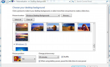 Auto Change Wallpaper Windows 7