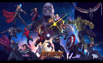 Avengers: Infinity War 2018 Wallpapers