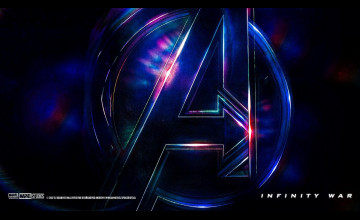 Avengers: Infinity War Logo Wallpapers