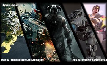 Awesome Gaming Desktop Wallpaper