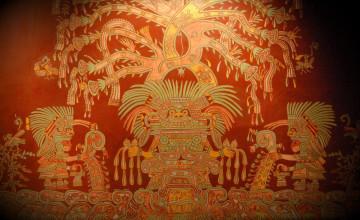 Aztec Artwork Tab Wallpaper