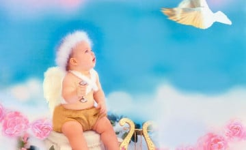 Baby Angel Wallpaper