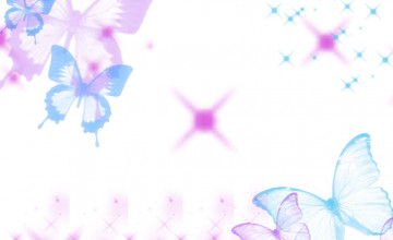 Background Cute Butterfly