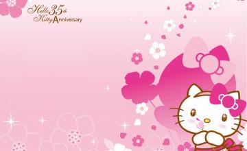 Background Hello Kitty