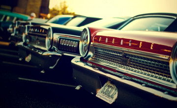 Background Wallpaper Old Cars Ford