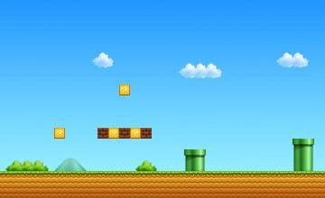 Background Mario