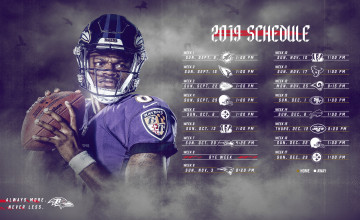Baltimore Ravens 2019 Wallpapers