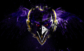 Baltimore Ravens Logo Wallpaper