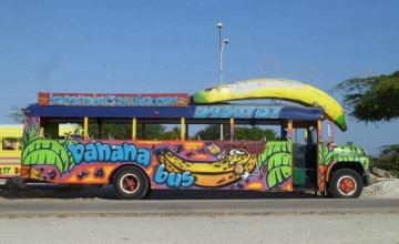 Banana Bus Wallpaper