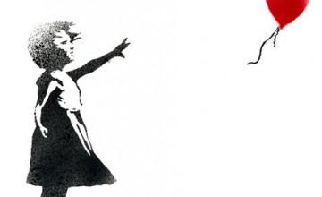 Banksy iPhone Wallpaper