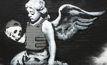 Banksy Wallpaper for Interiors