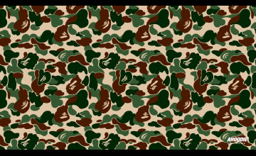 Bape Camo Wallpaper