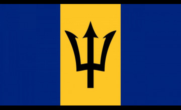 Barbados Flag Wallpapers