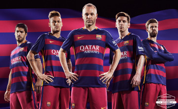 Barcelona HD Wallpaper 2015