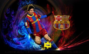 Barcelona Lionel Messi Wallpaper