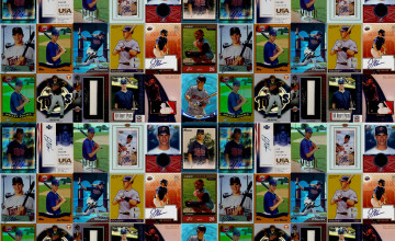 Baseball Card Wallpaper