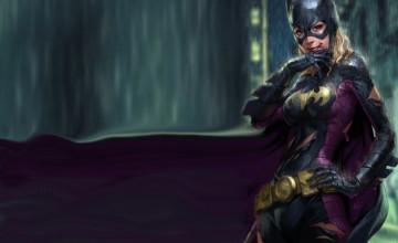 Bat Girl Wallpaper