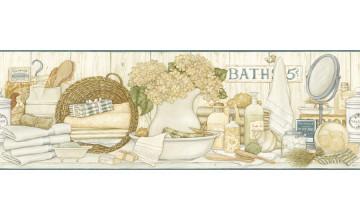 Bathroom Wallpaper Borders Prepasted