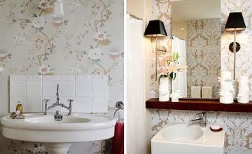 Bathroom Wallpaper Design Ideas