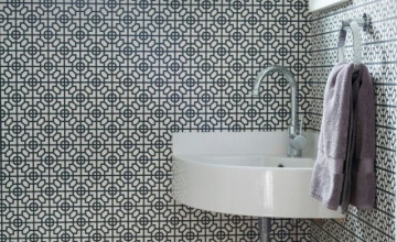 Bathroom Wallpaper for Small Rooms