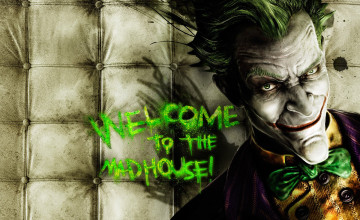 Batman Arkham Asylum Joker Wallpaper