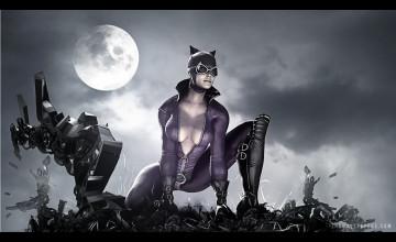 Batman Arkham City Catwoman Wallpaper