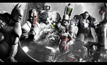Batman Arkham City Desktop Wallpaper