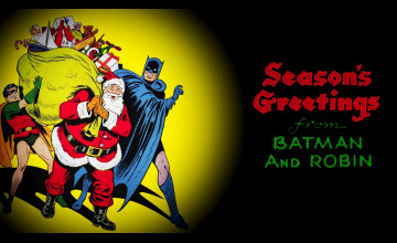 Batman Christmas Wallpaper