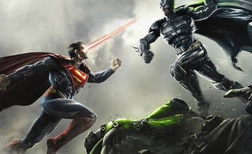 Batman vs Superman Desktop Wallpaper