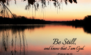 Be Still Wallpaper