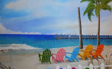 Beach Mural Wallpaper