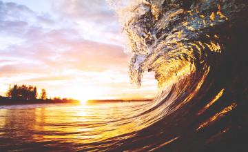 Beach Sunset Wallpaper Desktop