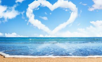 Beach Valentine Wallpaper