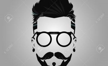 Beard Man Logo Wallpapers