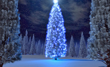 Beautiful 3D Christmas Wallpaper