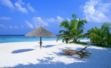 Beautiful Beach Scenes Wallpaper