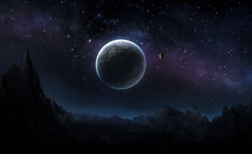 Beautiful Dark Desktop Wallpaper