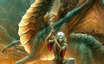 Beautiful Dragon Wallpaper
