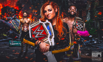 Becky Lynch And Seth Rollins HD Wallpapers