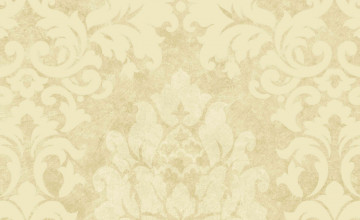 Beige Damask Wallpaper