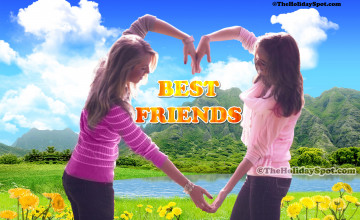 Best Friends Wallpaper