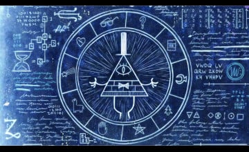 Bill Cipher Wheel Wallpaper