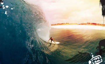 Billabong Surfing Wallpaper