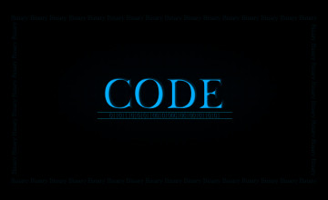 Binary Code Wallpaper
