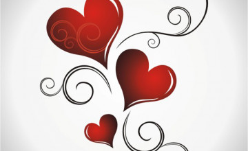 Bing Free Wallpaper Hearts