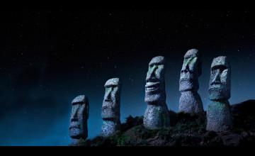 Bing Wallpaper Easter Island