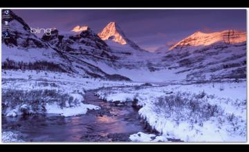 Bing Winter Wallpaper Screensavers