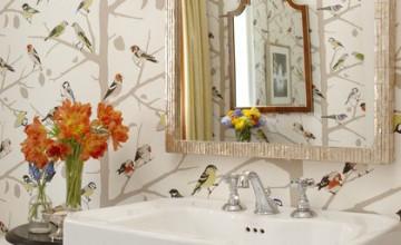 Bird Wallpaper Sarah Richardson