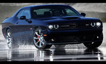 Black 2015 Dodge Challenger Wallpaper