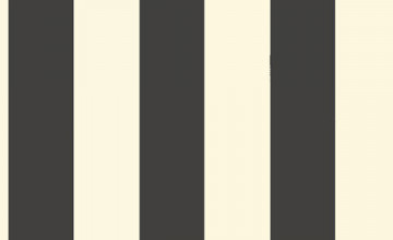 Black and Cream Striped Wallpaper